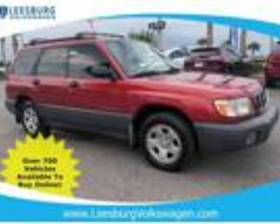 2002 Subaru Forester Grey Red, 96K miles