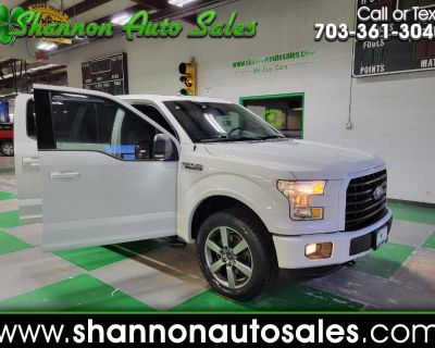 Used 2016 Ford F-150 XLT SuperCrew 5.5-ft. Bed 4WD