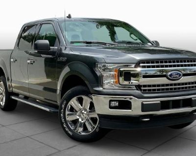 Pre-Owned 2018 Ford F-150 XL Four Wheel Drive Pickup Truck