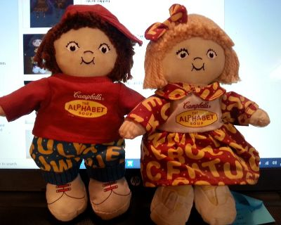 Campbell Soup Dolls