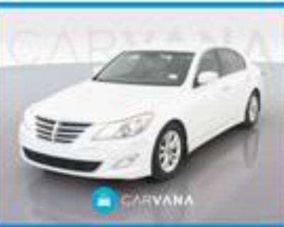 2012 Hyundai Genesis White, 102K miles