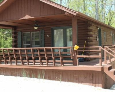 Log Cabin #8 with Hot Tub at Osborne Ramp - French Lick