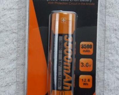 FS NEW, FENIX Rechargeable Li-Ion Battery (18650), ARB-L18-3500 (15610)
