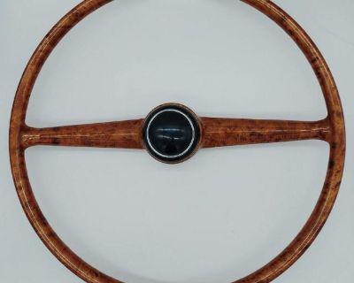 Stylishwheels Steering Wheel Soft Wood Bus