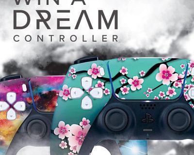 Original Cherry Blossom Custom Wireless PS5 Controller