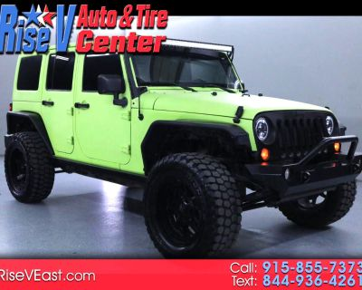 Used 2012 Jeep Wrangler Unlimited Sport 4WD