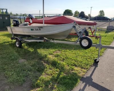1995 Northwood 12' ROW Aluminum Fish Boats Kaukauna, WI