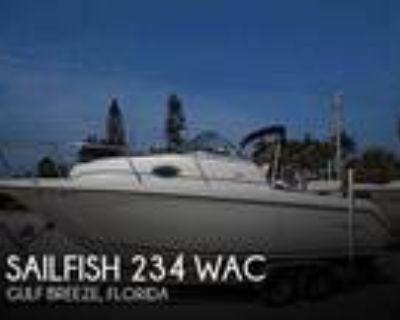 23 foot Sailfish 234 WAC