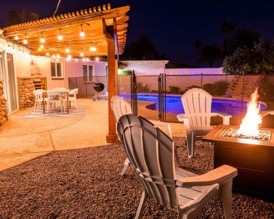 3BR-2BA House POOL GAME ROOM BBQ FIRE PIT LOCATION! - Tempe