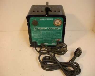 E-z-go Textron 36 Volt Golf Cart Charger Total Charge