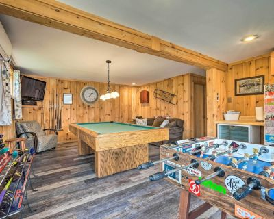 Spacious Home Adjacent to Mt. Snow w/ Game Room! - Vermont