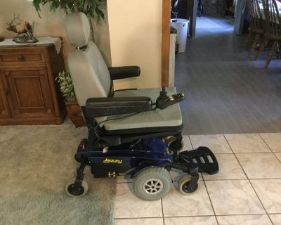 Pride mobility wheelchair