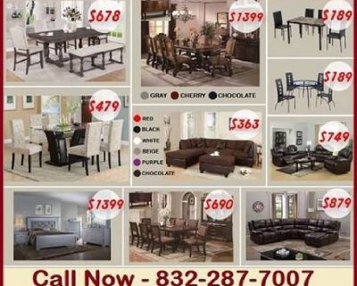 ALL FURNITURE BRAND NEW IN PACK