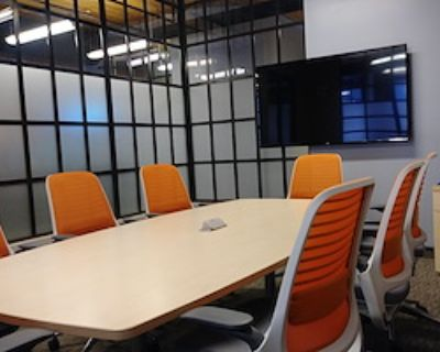 Private Meeting Room for 8 at Office Evolution - Denver/Downtown Market Street