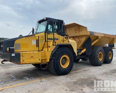 2011 Komatsu HM400-2 6x6 Articulated Dump Truck