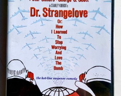 Dr. Strangelove  Dvd 1964 - Peter Sellers( Mail It? Paypal it! Click Link Below)