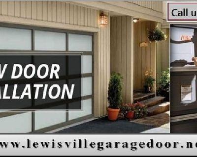 #1 New Garage Door Installation Repair Lewisville, TX – Call 972-436-3794