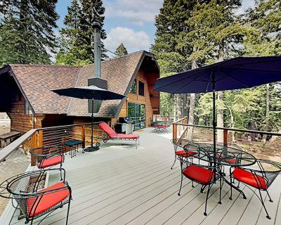 Sauna Wraparound Deck & Grill Tahoe Park Beach Access - Talmont