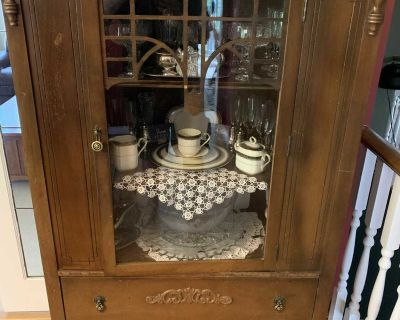 Antique China Cabinet + Sideboard