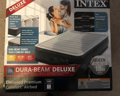 INTEX Elevated Premium Comfort Airbed