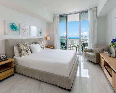 BrandNew WaterFront 2BR SouthExposure +30th Floor, marble tile! - Hallandale Beach