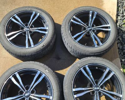 """17"""" rims with tires"""