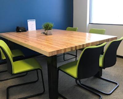 Private Meeting Room for 6 at Pacific Workplaces - Bakersfield