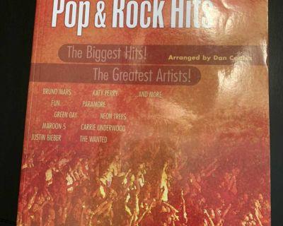 Pop & Rock Hits Easy Piano book