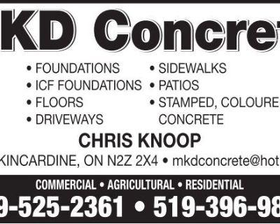 MKD Concrete - FOUNDATIONS ...