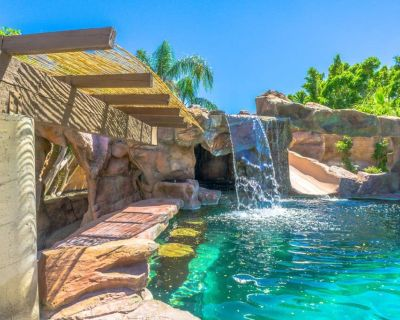 ROCKSTAR PS OASIS! POOL+GROTTO+GOLF!! THE BEST! - Cathedral City