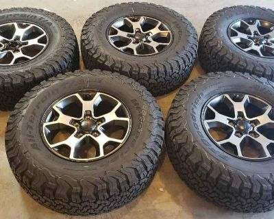 Texas - 2020 Jeep Rubicon Wheels and Tires $1,000