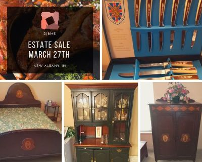 DJ&ME Estate Sale- New Albany, IN Saturday Only!