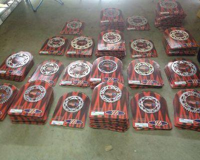 Hardstyle Usa Sprocket Lot 400pc Klx Drz Pitbike Kx Rmz Crf Renthal Wholesale