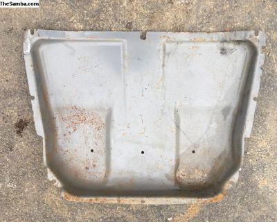 Early bay front splash pedal pan 1973-9
