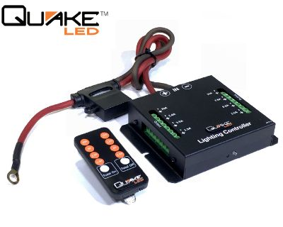 Quake LED Switch System QUIC798 Lighting/ 12v Accessory Controller...The Ultimate Headache Saver!