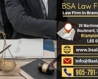 BSA Law Firm - Law Firm in Brampton