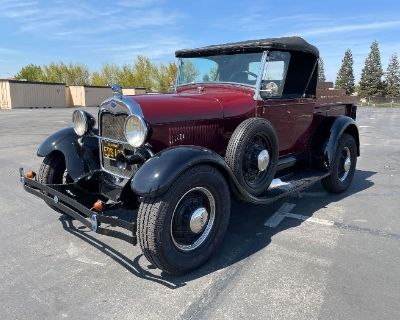Live & Online Auction, Vehicles, Pontoon Boat, 1928 Ford Model A, & Tools Online Bidding Now Open