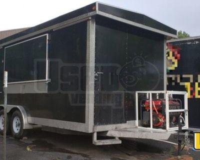 Lightly Used 2020 - 8' x 16' Mobile Kitchen Food Concession Trailer