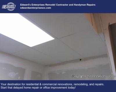 Fluorescent Lighting Repairs & Ceiling Light Fixtures Installation in Reseda, Ca