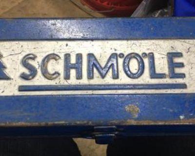 Vintage 1950s Schmole tool box German