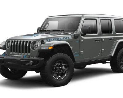 New 2021 JEEP Wrangler 4xe Unlimited Rubicon 4xe With Navigation