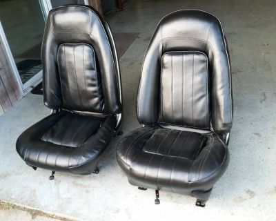 1971-1976 PONTIAC FIREBIRD TRANS AM GRAND PRIX BUCKET SEATS RARE OEM GP 455 400