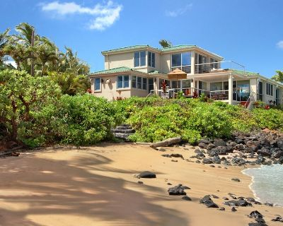 Oceanfront with Private Pool & AC in Bedrooms! - Koloa