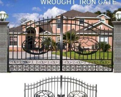 GreatBear Wrought Iron Gate - Unused