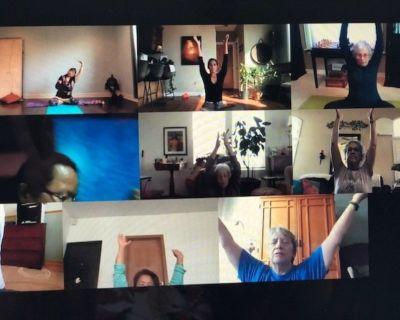 Virtual Yoga - Online via zoom