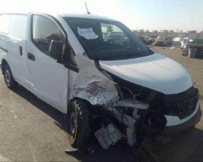 Salvage White 2017 Nissan Nv200 Compact Cargo