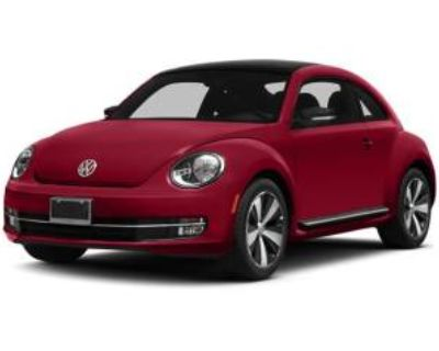 2014 Volkswagen Beetle Turbo R-Line with Sunroof/Sound/Navigation Coupe DSG