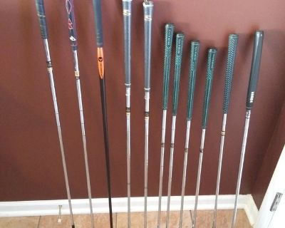 Mens LH Golf Clubs, All cleaned and polished New and Used