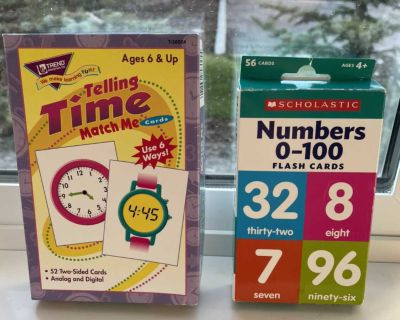 Time Game and Flash cards