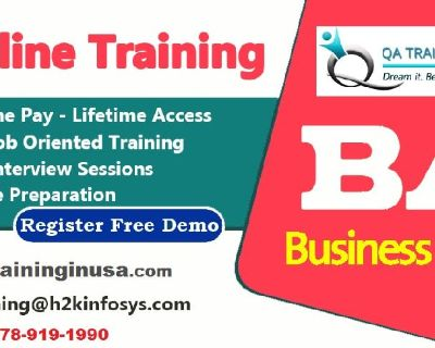 BA online Course + 100% job support by Qatraininginusa.